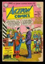 Action Comics #233 1957-DC COMICS-SUPERMAN Borgonia G- - $56.75