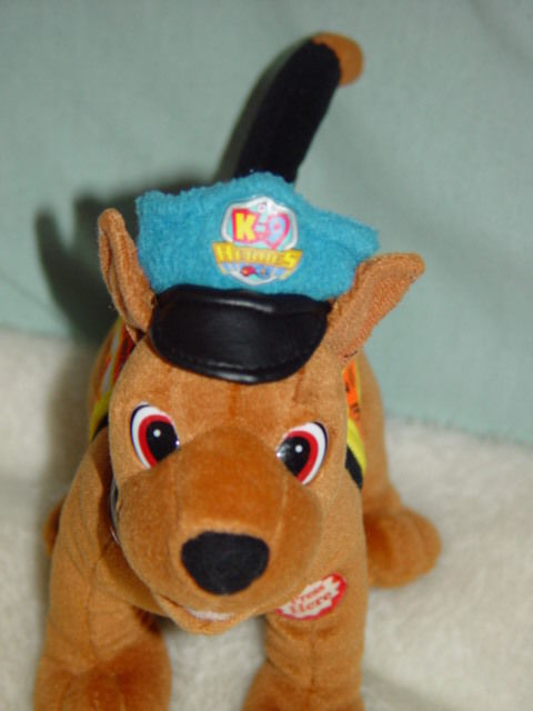 Primary image for K-9 Heroes Police Search & Rescue Unit 6 Dog  Bean Bag Plush Dose Not Bark