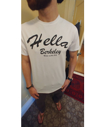 HELLA BERKELEY CLOTHING™ MEN'S WHITE HERO TEE - $16.99+