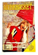 Vintage The Workbasket Magazine Cable Knit Sweaters Recipes March 1990 - $3.95