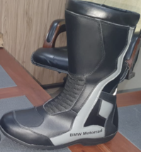 Black BMW Motorbike leather boots CE Approved - $140.00