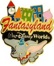 Disney Dumbo Elephent  WDW Fantasyland Ride Authentic pin - $9.99