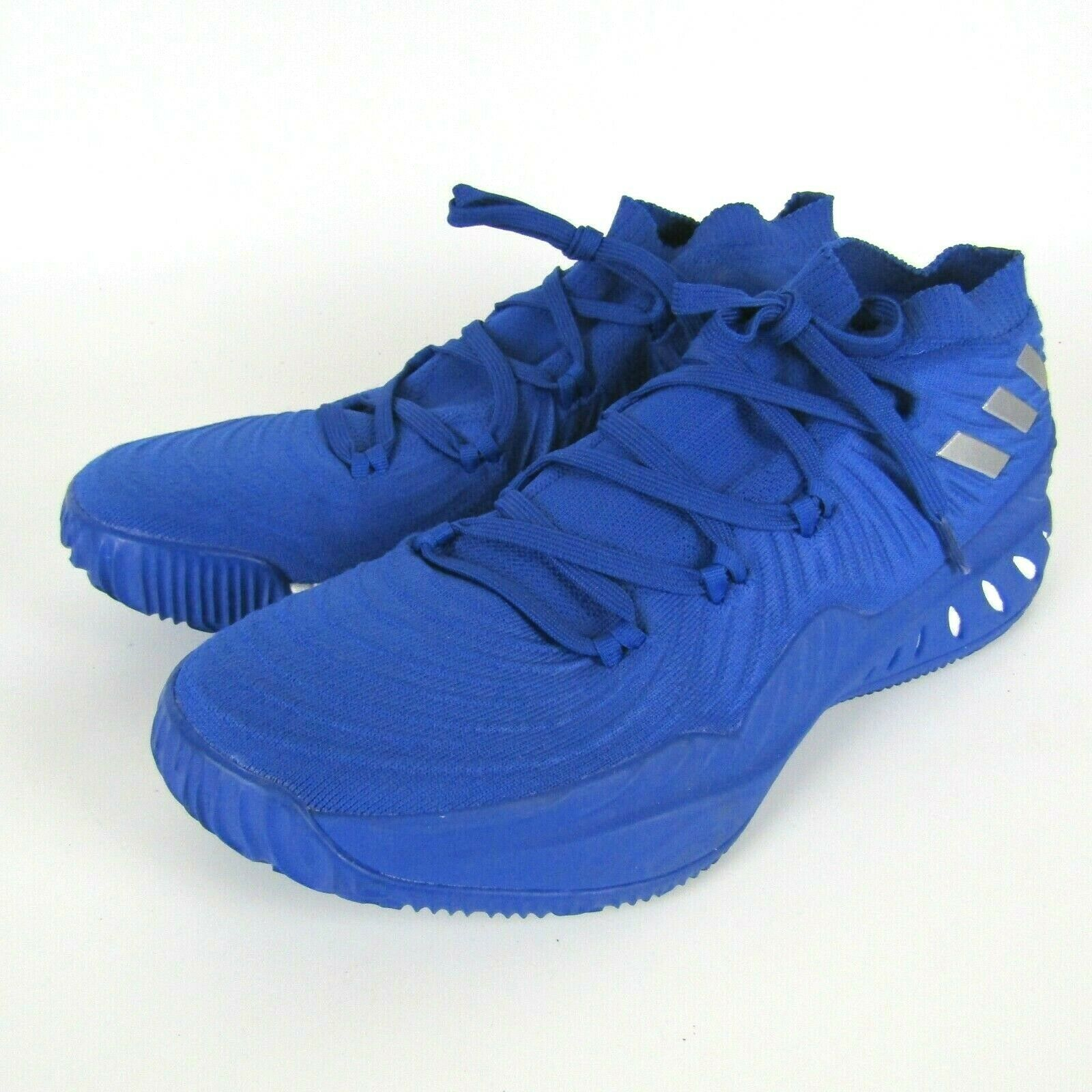 Adidas Crazy Explosive 2017 Low Basketball Shoe Blue White Men's Size 17  B75922 image 3