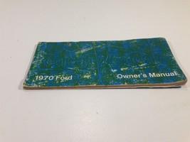 1970 Ford Car Owner's Manual Glovebox Original - $12.99