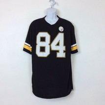 NFL Team Apparel Antonio Brown 84 Pittsburgh Steelers Mens Football Jers... - $17.75
