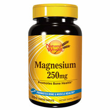 Natural Wealth - Magnesium 250mg - Promotes Bone And Muscle Health - 100 Caps - $35.00