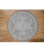 8'x8' HandKnotted 100 Percent Wool Tribal Design Fine Oriental Round Rug... - $1,516.03