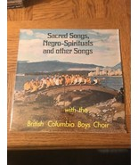 Sacred Songs Negro Spirituals And Other Songs Album - €25,96 EUR