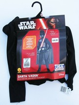 DARTH VADER Halloween Costume Size SMALL 4-6 Star Wars NEW Black NWT Rubies - $9.80