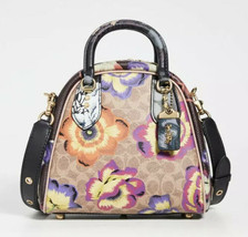 Coach x Kaffe Marleigh Floral Satchel Multi Bag Handbag Purse RARE NWT - $741.51