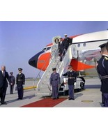President John F. Kennedy departs Air Force One at Andrews AFB New 8x10 ... - $8.81