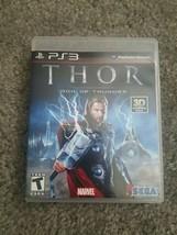 Thor: God of Thunder (Sony PlayStation 3, 2011) - $11.39