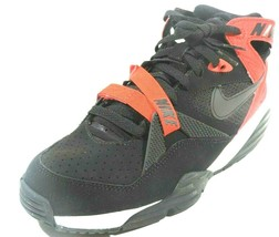 NIKE AIR TRAINER MAX '91 RETRO CROSS TRAINERS BLACK RED 309748 008 SIZE 9.5 - £58.22 GBP