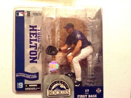 MLB Sports Picks Series 9 Todd Helton Action Figure [Purple Jersey White... - $14.95