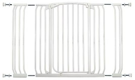 Dreambaby Chelsea Extra Tall and Wide Auto Close Security Gate in White ... - $109.99