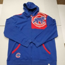 NWOT Chicago Cubs MLB Baseball Fanatics Full Zip Hoodie Sweatshirt 2XLT New - $39.59