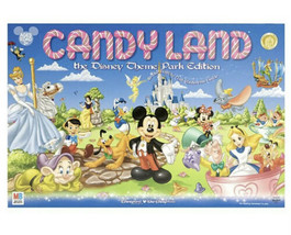 Disney Candy land Theme Park Edition 2009 Hasbro Board Game - $37.04