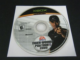 Tiger Woods PGA Tour 2005 (Xbox, 2004) - Disc Only!!! - $3.78