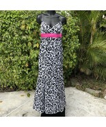 Betsy & Adam by Linda Bernell Formal Gown Cocktail Prom Dress Size XS Sl... - $68.13