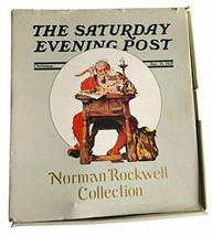 The Saturday Evening Post Norman Rockwell Collection Christmas Santa Clause - $140.24