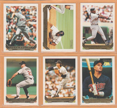 1993 Topps Gold Insert Minnesota Twins Team Lot Kirby Puckett Chili Davis + image 2