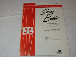 Belwin Course for Strings: String Builder, Book Two by Samuel Applebaum - $11.87