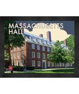 """Harvard University """"Massachusetts Hall"""" 13x16 Art Deco Framed Print  - $39.95"""