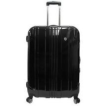 "Traveler's Choice 29"" Black Sedona Pure Polycarbonate Spinner Luggage Tr... - $118.79"