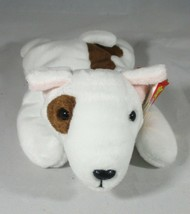 Ty Beanie Baby Butch The Bull Terrier Gasport Tag Error CREASED TAG - $6.92