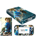 Nintendo Wii U Console Skin Legend of the Zelda the Wild Vinyl Decals St... - $12.00