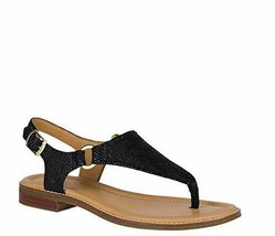 Sperry Top-Sider Abbey Sandal Women sz 10 Black NEW - $31.34