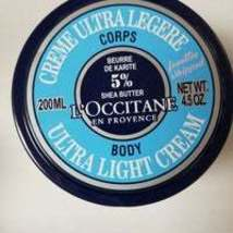 L'Occitane Ultra Light Body Cream Shea 4.5fl oz - $50.00