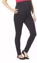 NWT 10 Liz Lange Maternity Over The Belly Ponte Leggings Pants Women's L... - $9.74