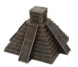Pacific Giftware Mesoamerican Aztec Pyramid Box Collectible Desktop Deco... - $46.65