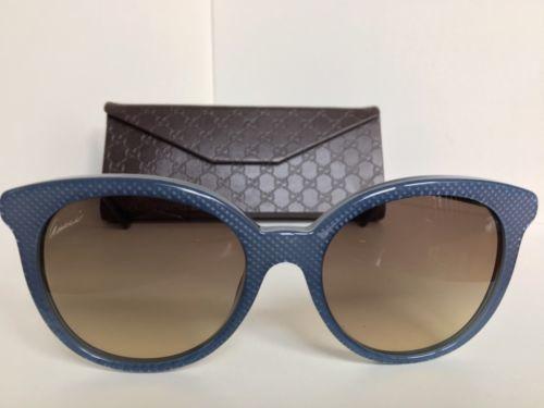 72b3bb7e0987 New GUCCI GG 3674 S 5SLED 53mm Blue Women s and 50 similar items