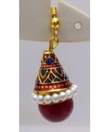 Meenakari Minakari Enamel Jhumka Jhumki Handmade Earring Jewelry Chandel... - $4.70