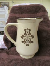 Vintage Pfaltzgraf 2 quart pitcher, Village pattern #416 - $19.80