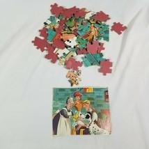Rare Vintage 101 Dalmatians Puzzle 63 Pieces Thick and Sturdy Puzzle Pieces - $16.14