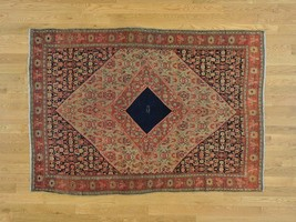 "4'4""x6'4"" Antique Persian Senneh Exc Cond Signed Handmade Oriental Rug G... - $4,312.72"