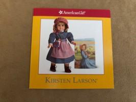 Meet Kirsten Larson pamphlet booklet American Girl doll Story paper insert - $11.50