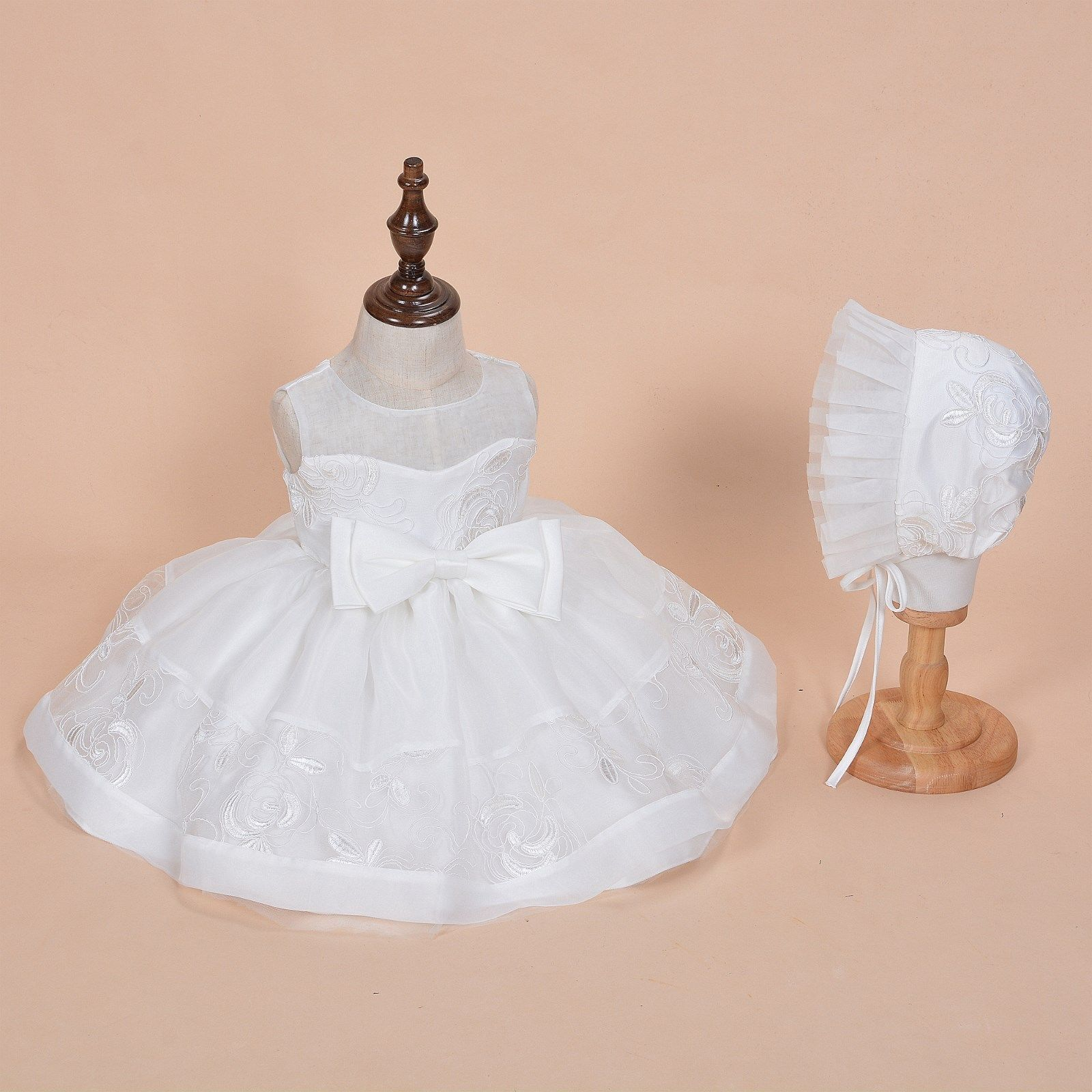 19d78d732c37 New Girls Ivory Lace Christening Party Dress and 50 similar items
