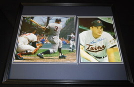Harmon Killebrew Signed Framed 16x20 Photo Set Twins - $140.24