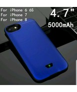 5000/8000mAh PowerBank Slim Ultra Thin Battery Case For iPhone 6 6S 7 8 ... - $28.12
