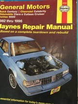Haynes Repair Manual 38005 General Motors 1982 -1996 Buick Chevy Olds Po... - $14.88