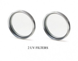 2 Uv Filters For Sony HDR-XR550 HDRXR550 HDRCX520VE DCR-TRV50 DCRTRV530 DCRTRV50 - $11.55