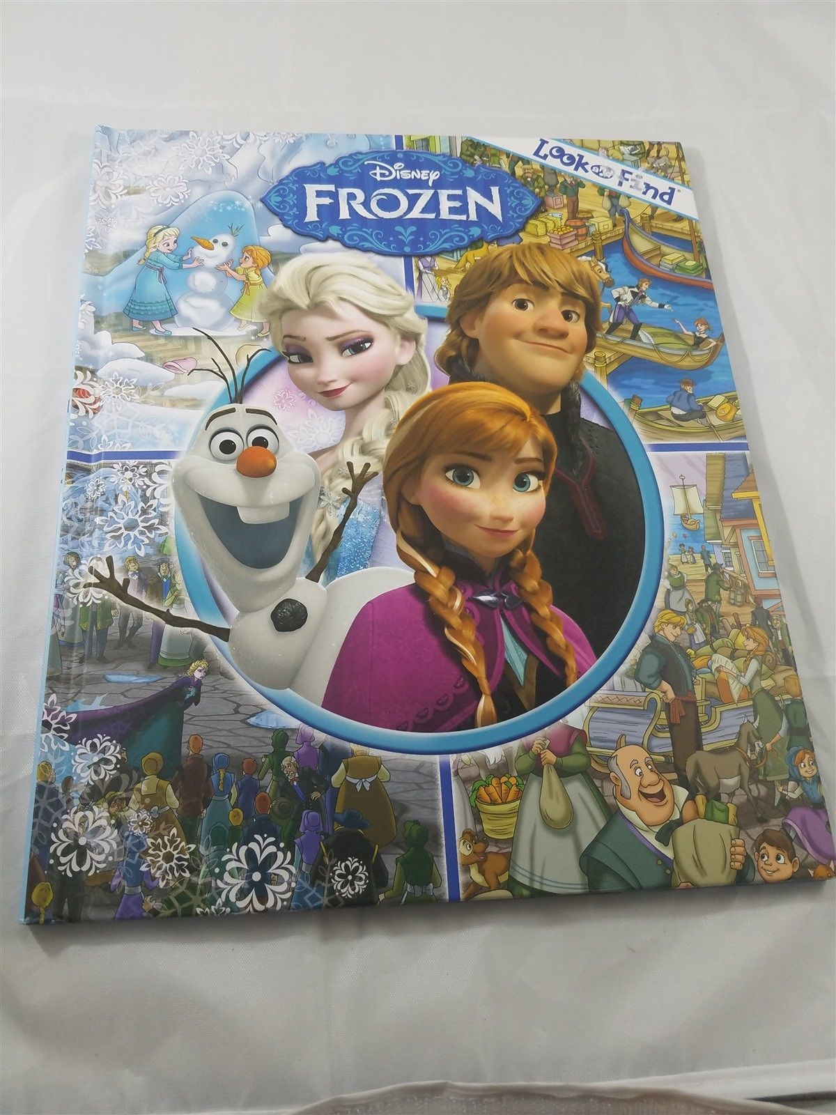 Disney Frozen Look and Find (2012, Hardcover ...