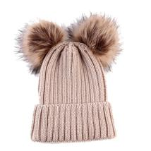 Women's cap Fashion Keep Warm Winter Hats Knitted Wool Hemming Knitted c... - ₹881.10 INR