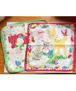 Walt Disney Productions Child's 2 Handkerchiefs Bambi Donald Daisy Nephews - $19.75