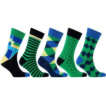 Men's 5-Pair Colorful Mix Socks - $30.00