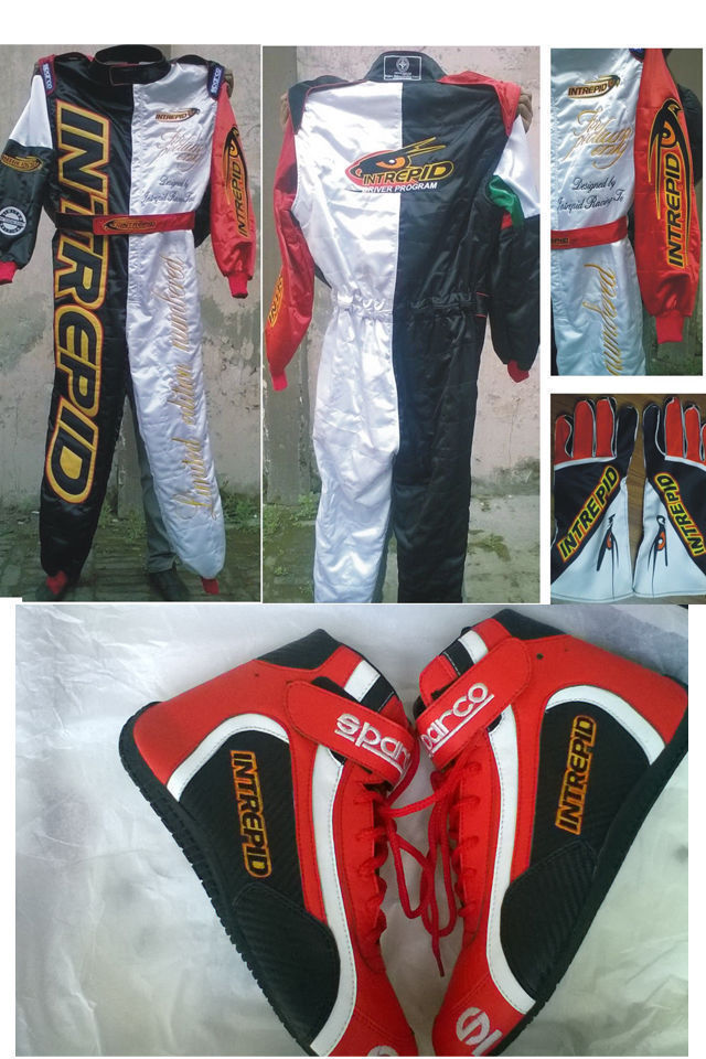Free gifts included Go Kart Race Suit CIK//FIA Level 2